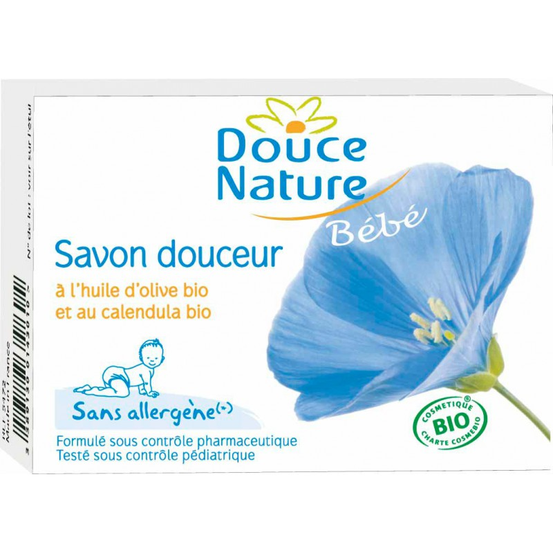 Savon douceur sans allergène Nature Douce (100 g)