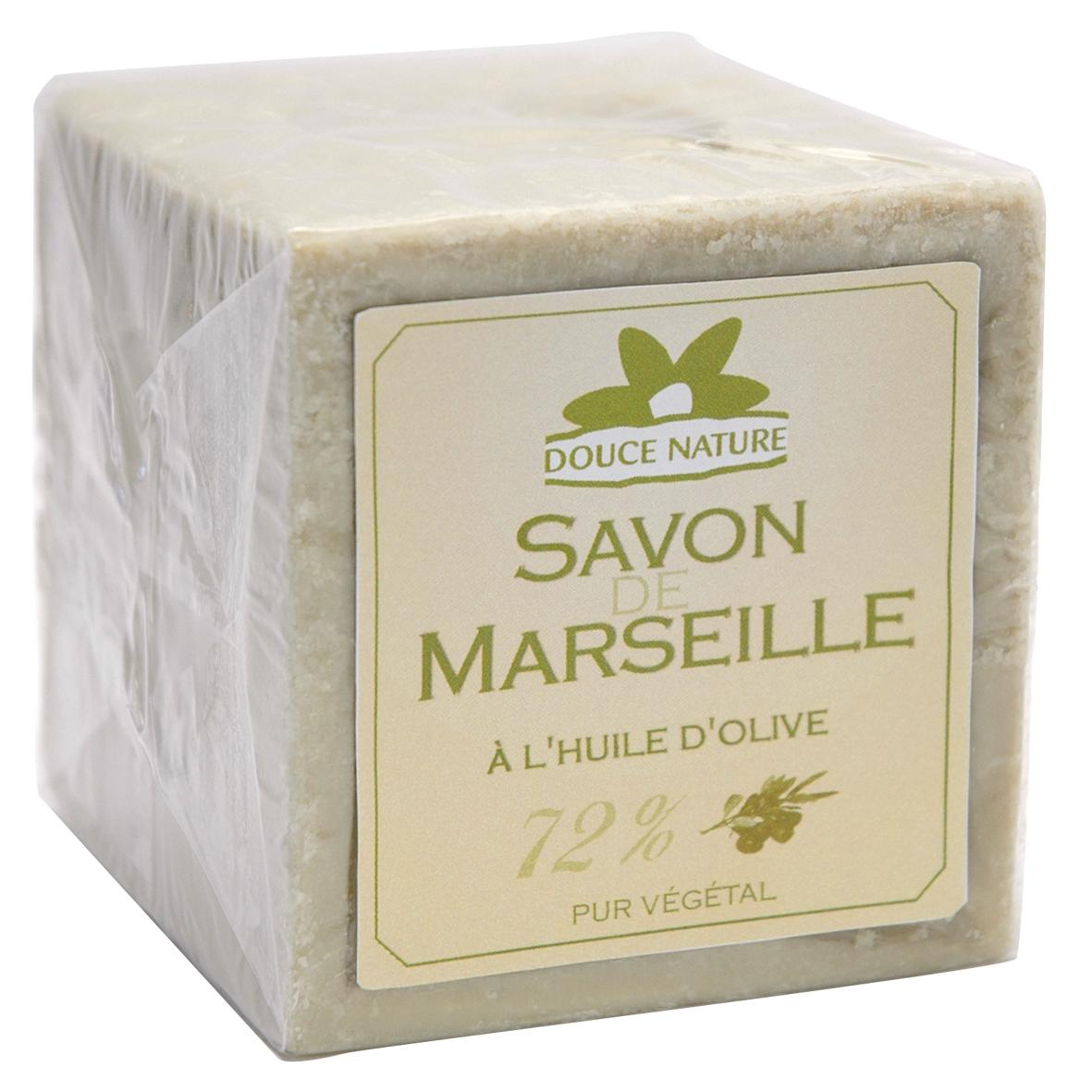 Savon vert de Marseille à l'huile d'olive (72 %), Douce Nature (600 g)
