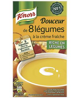 Douceur de 8 légumes à la crème fraîche, Knorr (1 L)