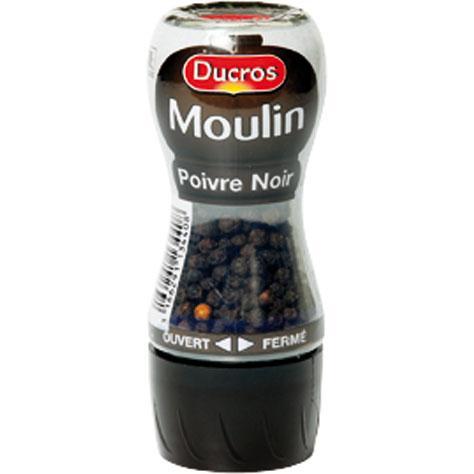 Moulin Poivre noir Ducros (28 g)