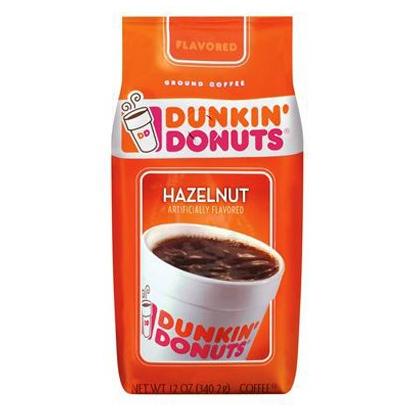 Café moulu saveur noisettes, Dunkin' Donuts (340 g)
