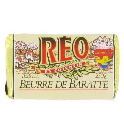 Beurre de Baratte doux, Réo (250 g)
