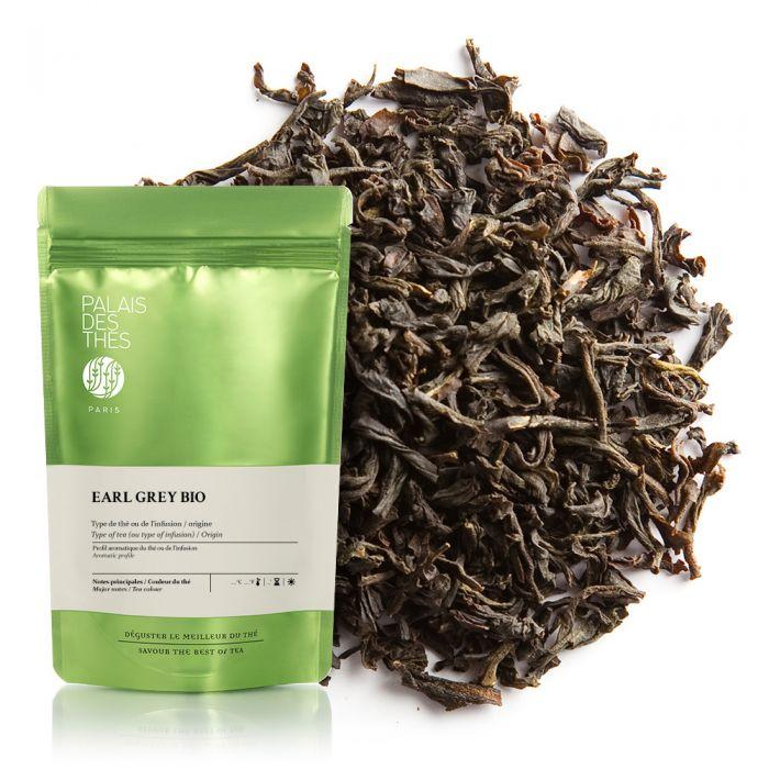 Thé noir à la bergamote Earl Grey BIO, Palais des Thés (100 g)