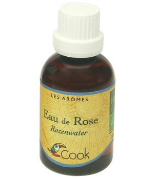 Extrait naturel d'eau de rose BIO, Cook (50 ml)