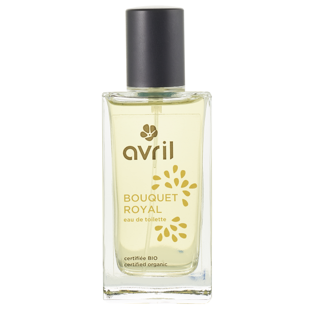 Eau de toilette bouquet royal certifiée BIO, Avril (50 ml)