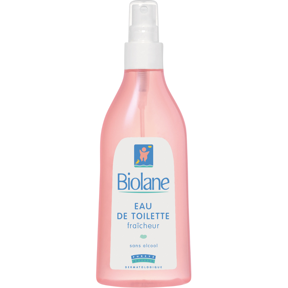 Eau de toilette fraicheur pour bébés, Biolane (200 ml)