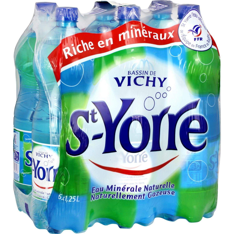 Pack de St-Yorre (6 x 1,25 L)
