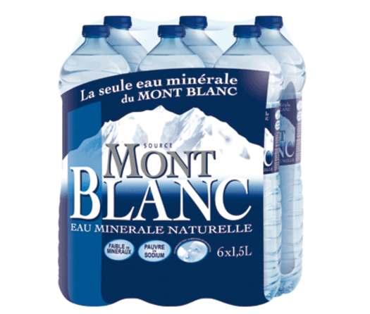 Pack de Mont Blanc (6 x 1.5 L)