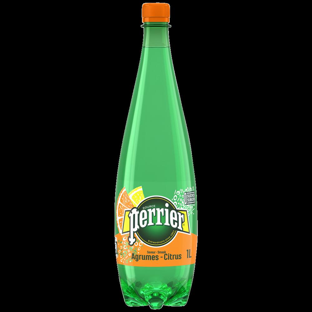Perrier aromatisée aux agrumes (1 L)