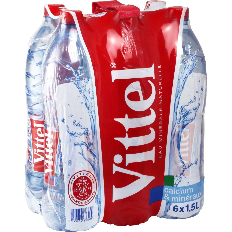 Pack de Vittel (6 x 1.5 L)