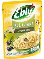 Ble nature huile d'olive express 2 minutes, Ebly (220 g)