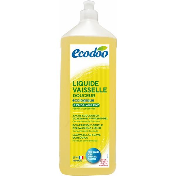 Liquide vaisselle douceur à l'aloe vera, Ecodoo (1 L)