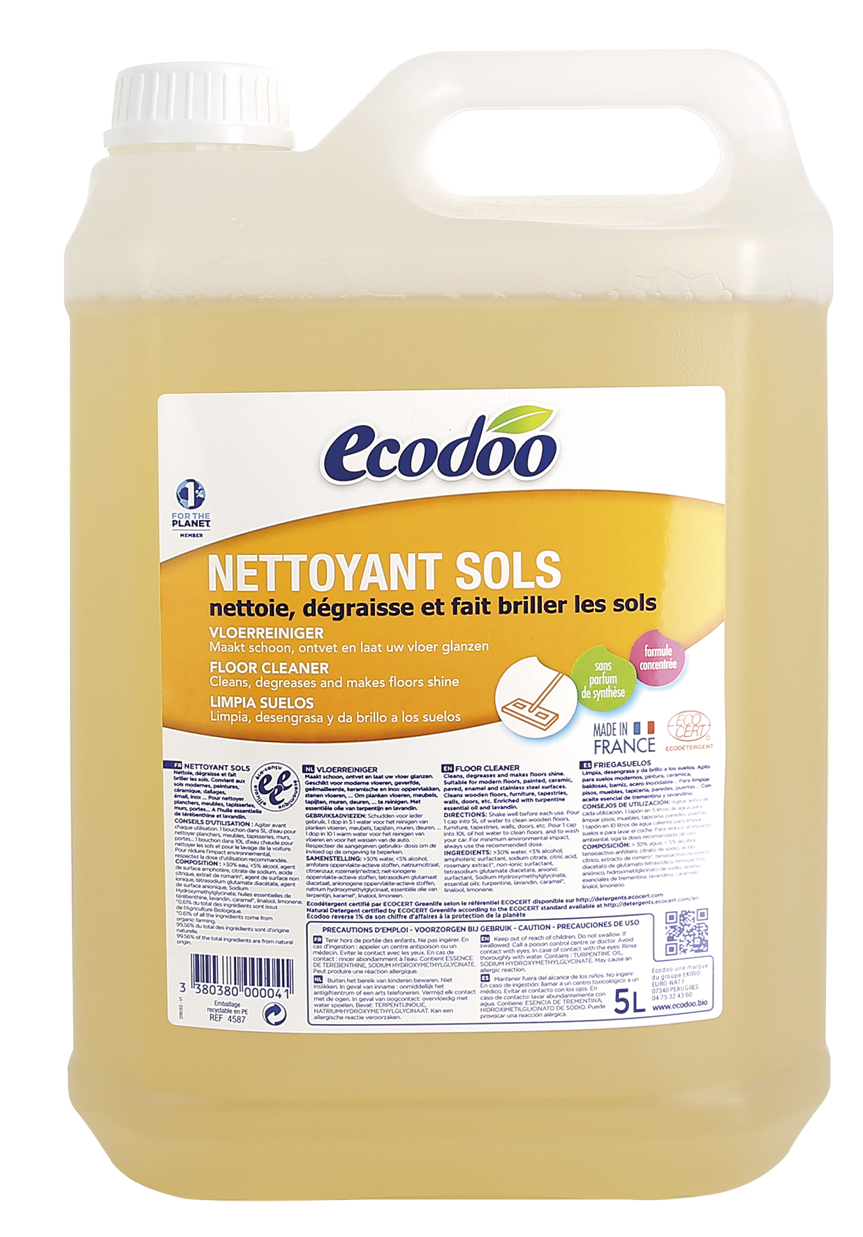 Nettoyant sols, Ecodoo (5 l)