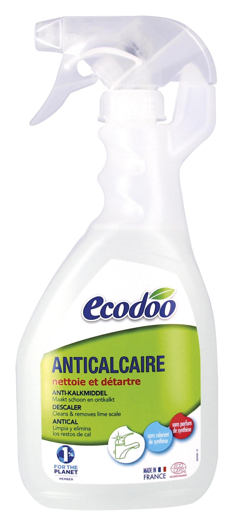 Nettoyant anti-calcaire en spray, Ecodoo (500 ml)