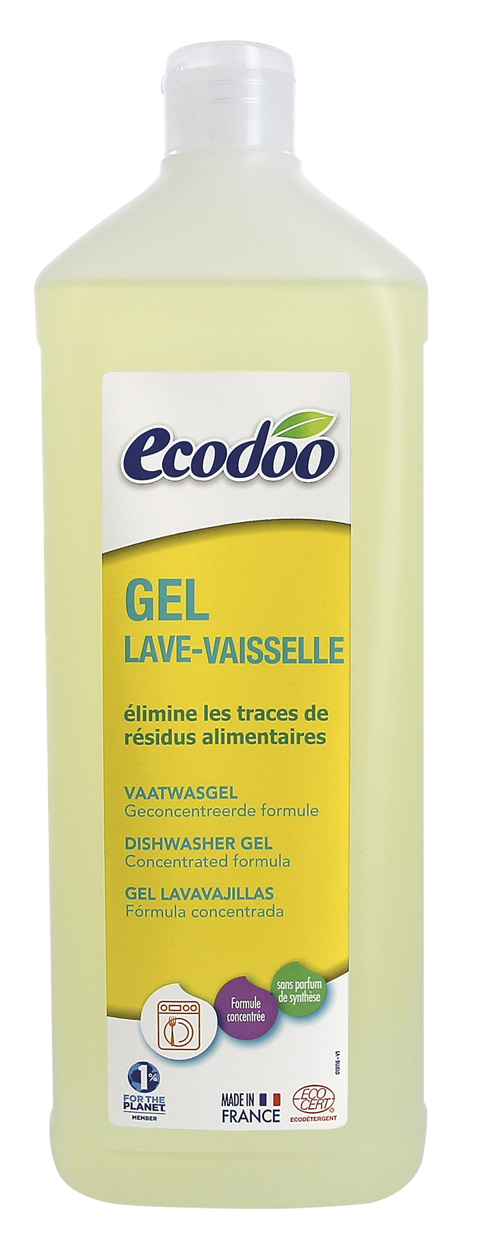 Gel lave-vaisselle, Ecodoo (1 L)