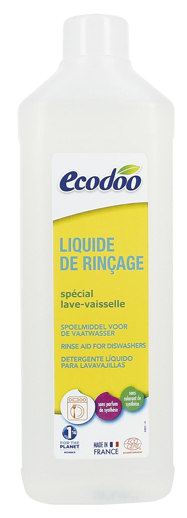 Liquide de rinçage pour lave vaisselle, Ecodoo (500 ml)