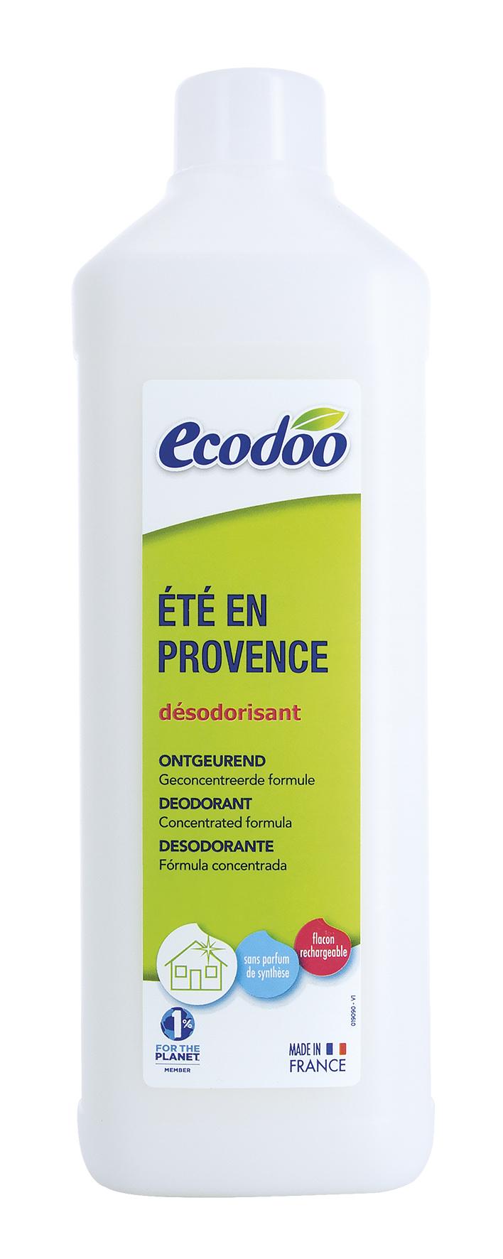 Recharge pour désodorisant Un été en Provence, Ecodoo (1 L)