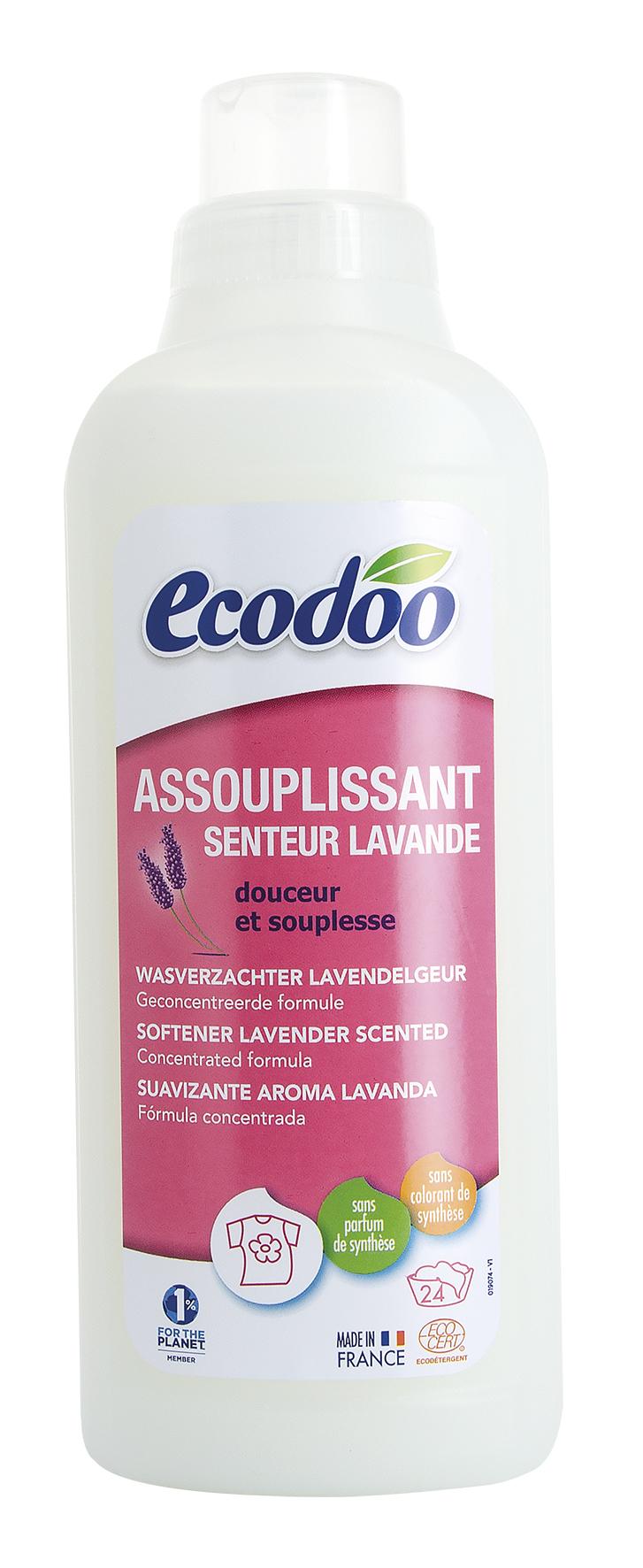 Assouplissant senteur lavande, Ecodoo (750 ml)
