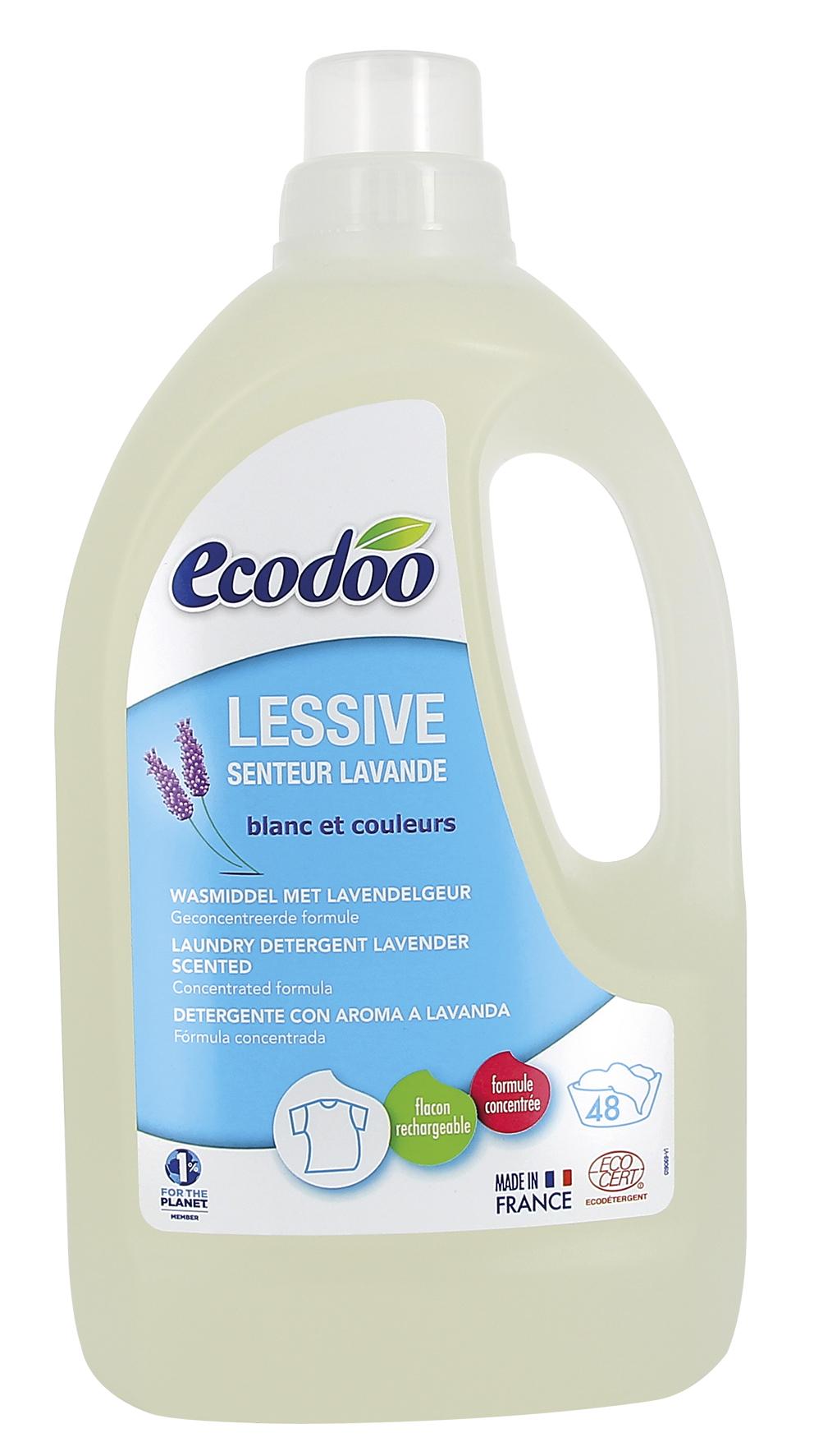 Lessive concentrée senteur lavande, Ecodoo (1.5 l)