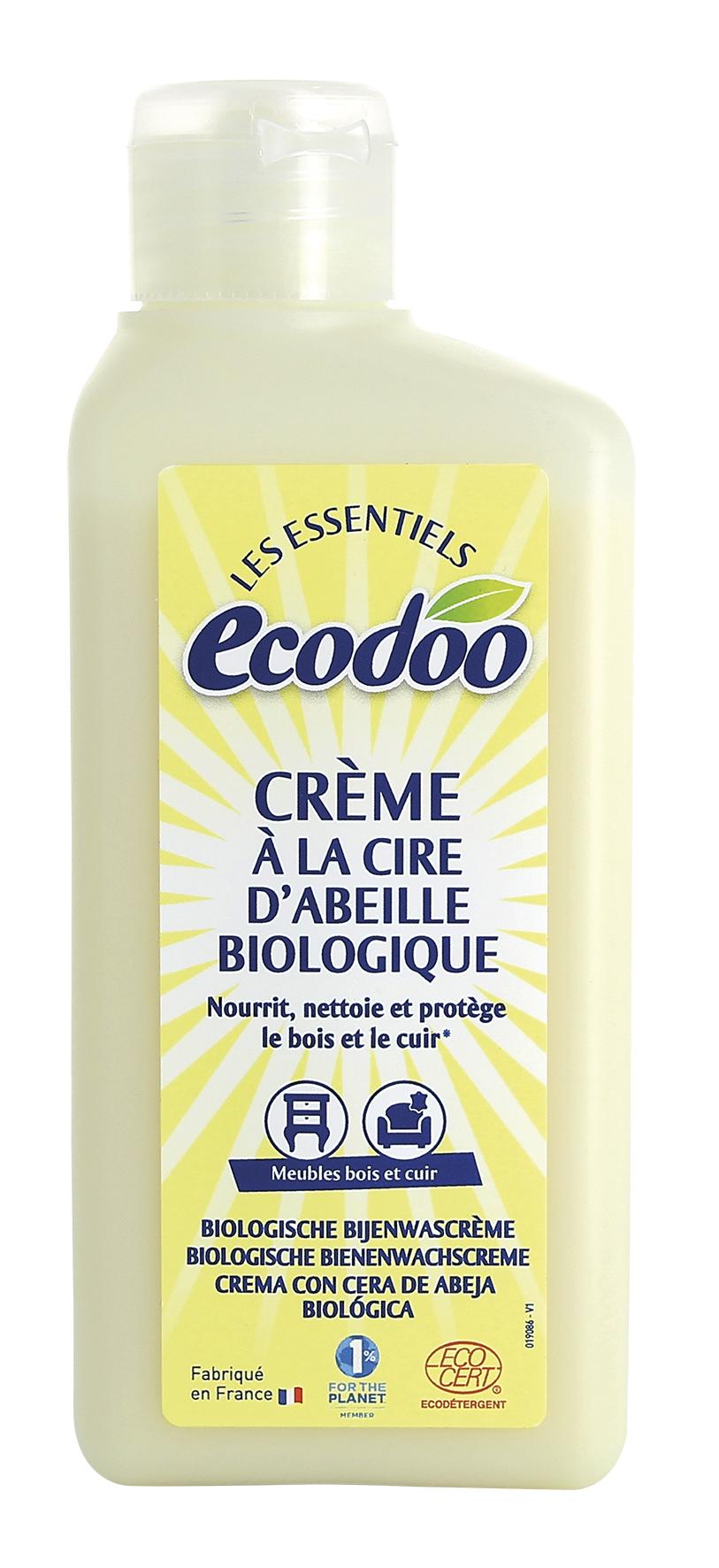Crème à la cire d'abeille, Ecodoo (250 ml)