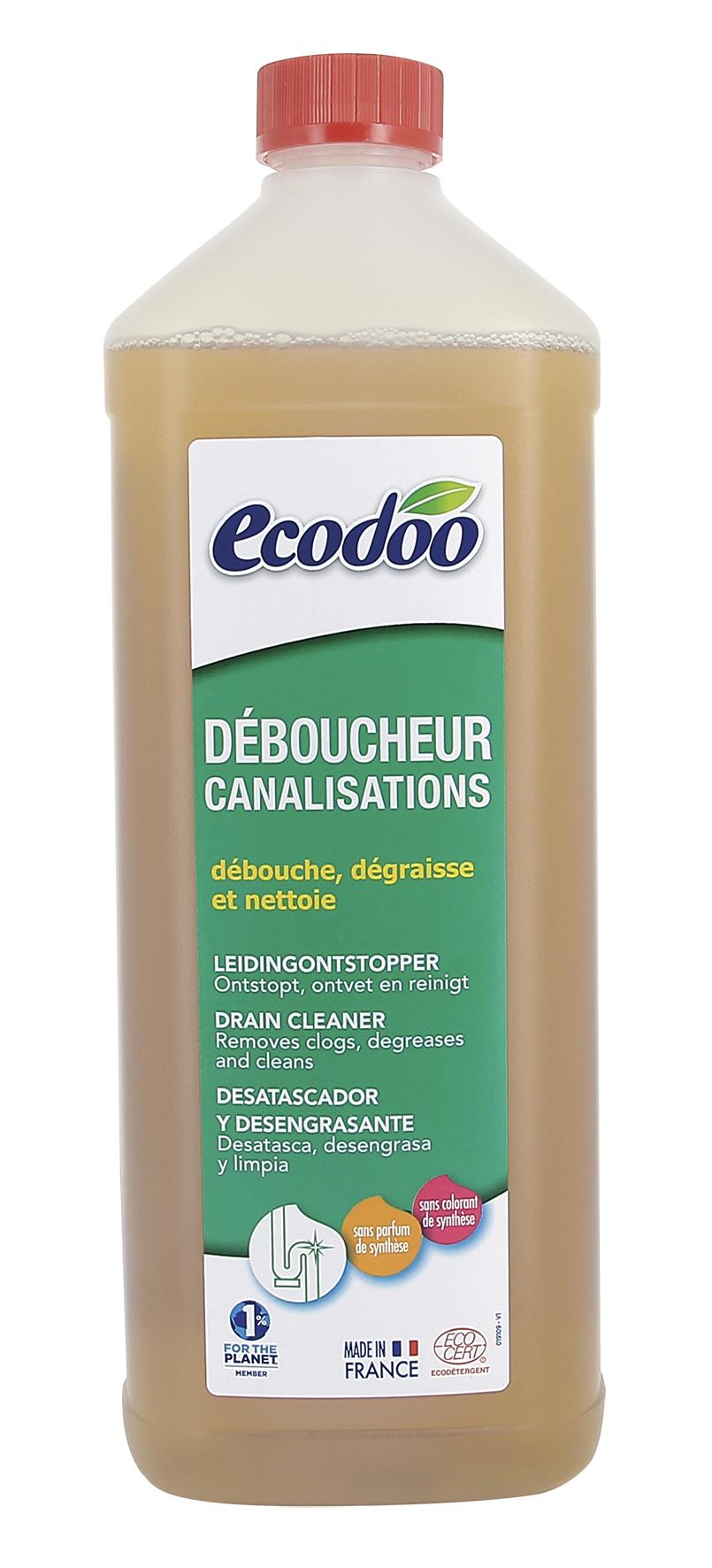 Déboucheur pour canalisations, Ecodoo (1 l)