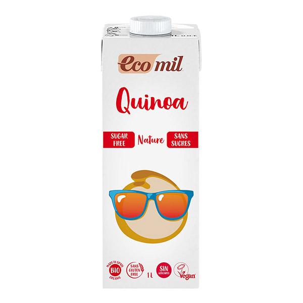 Boisson de quinoa sans sucre BIO, Ecomil (1 L)