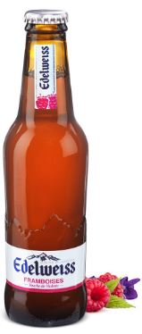 Edelweiss blanche framboise, 4 ° (25 cl)
