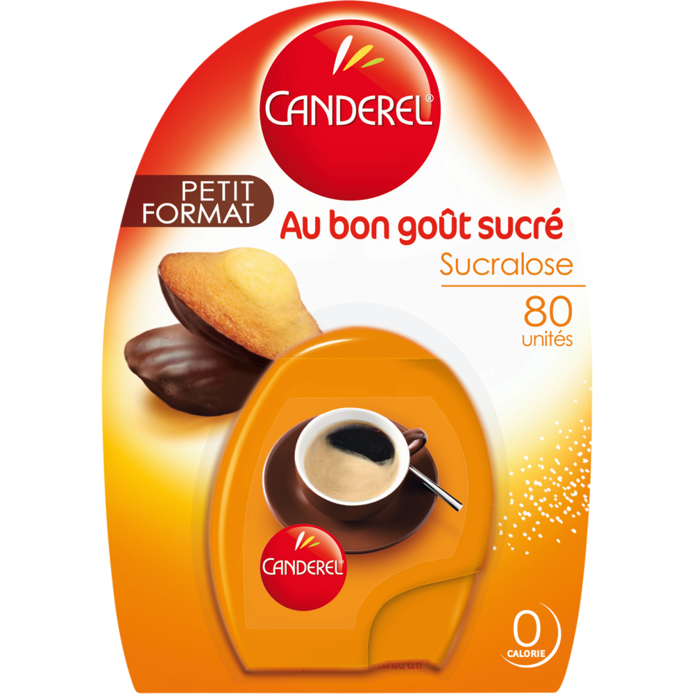 Edulcorant sucralose boite comprimés, Canderel (x 80)