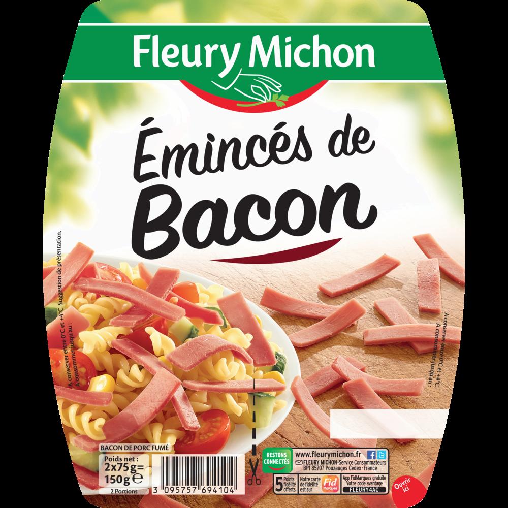 Emincés de bacon, Fleury Michon (2 x 75 g)