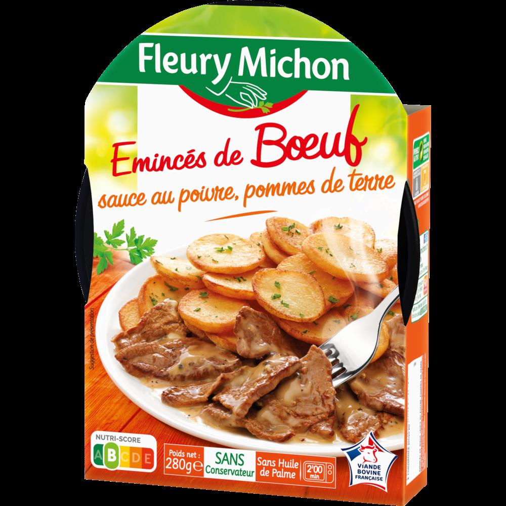 Emincés de boeuf sauce poivre pommes de terre, Fleury Michon (280 g)
