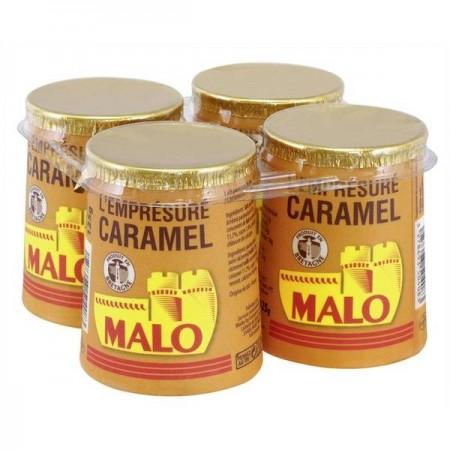 Emprésuré au caramel, Malo (4 x 125 g)