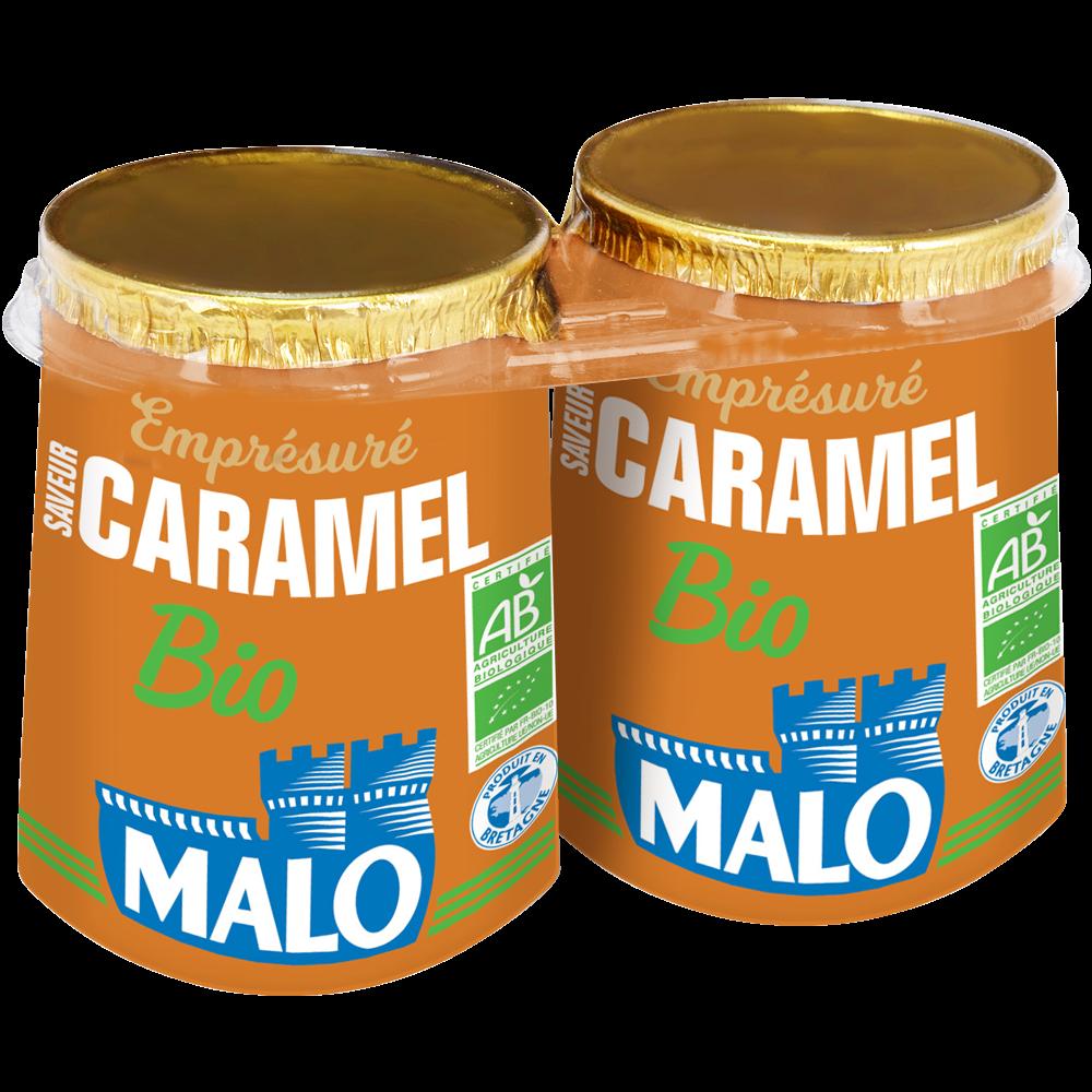 Emprésuré au caramel BIO, Malo (2 x 125 g)