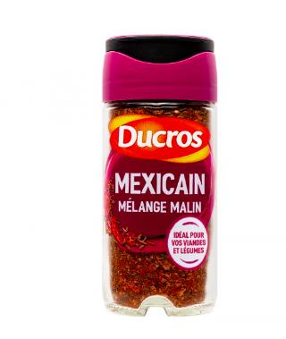 Epices Mélange Mexicain Mélange malin, Ducros (40 g)