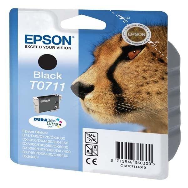 Cartouche Epson T0711  Noir