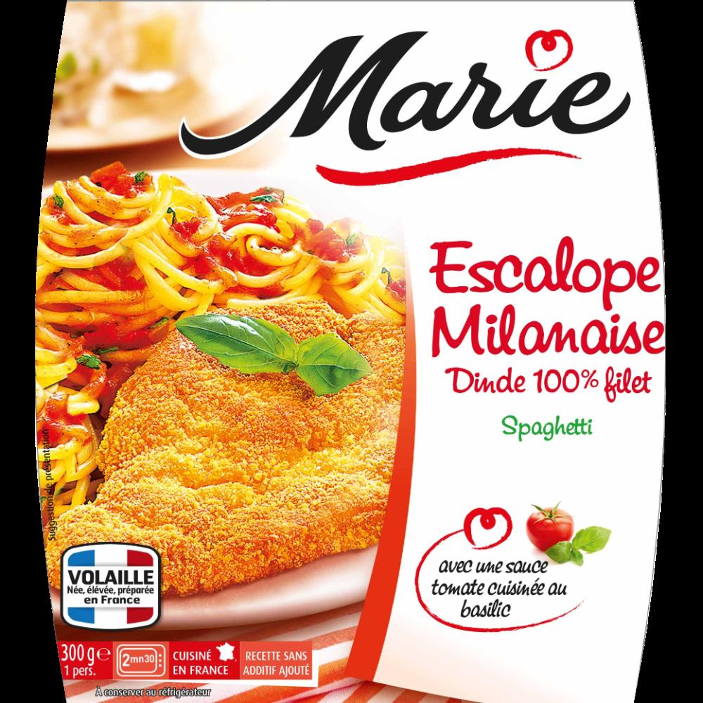 Escalope Milanaise spaghettis, Marie (300 g)