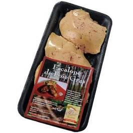 Escalopes de foie gras de canard à poeler, Panache des Landes (150 g)