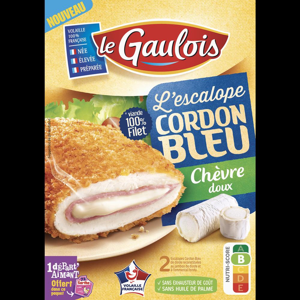 Cordon bleu de dinde au chèvre, Le Gaulois (x 2, 200 g)