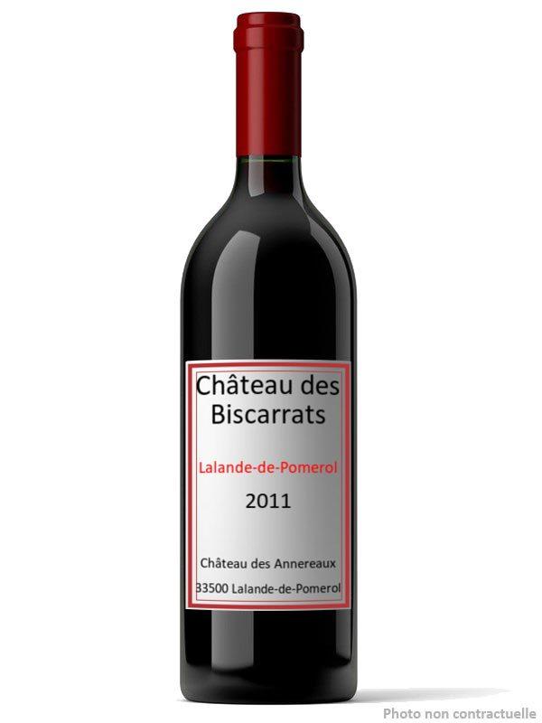 Lalande de Pomerol Château des Biscarrats 2011 (75 cl)