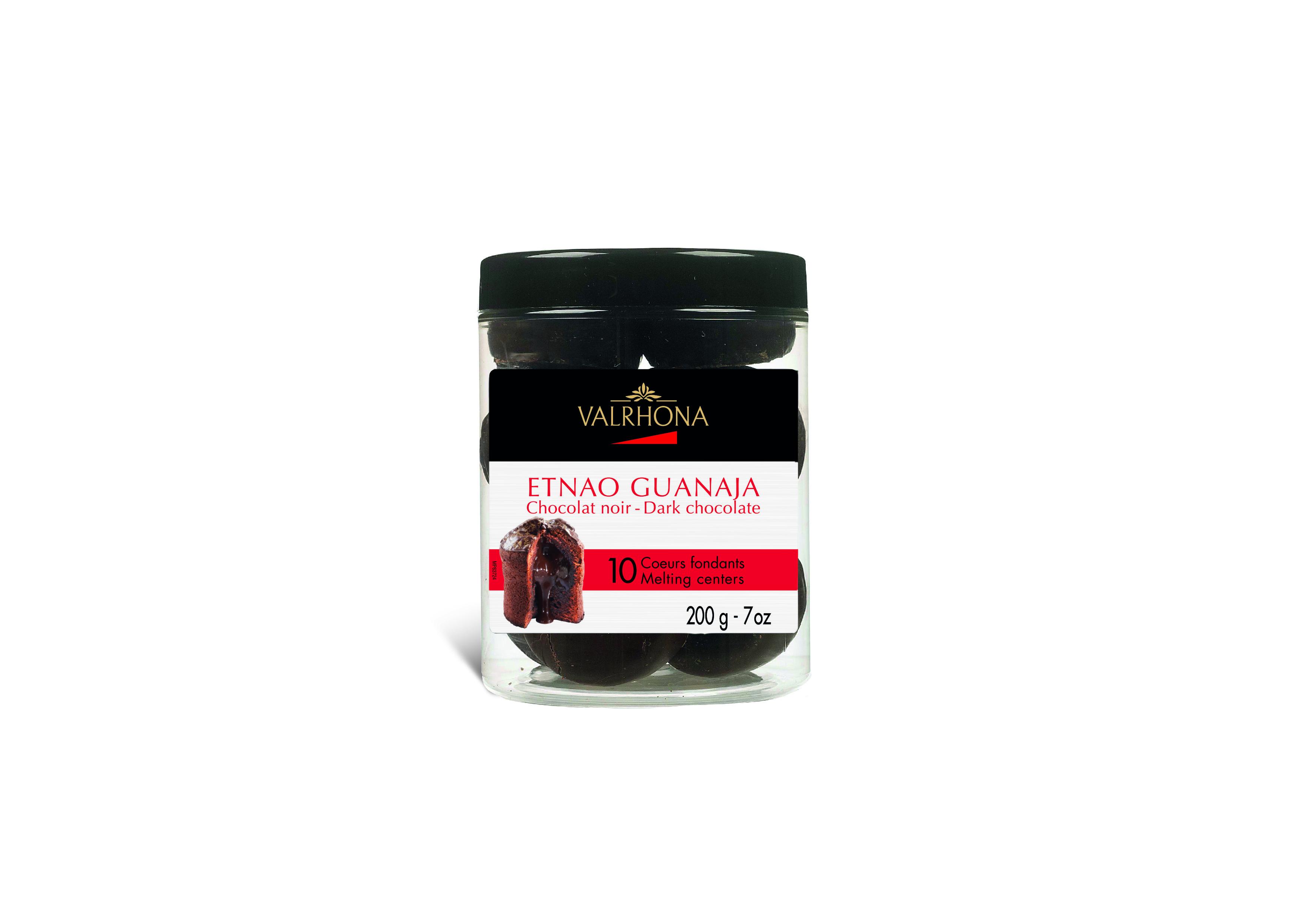 Etnao Guanaja coeurs fondants, Valrhona (180 g)