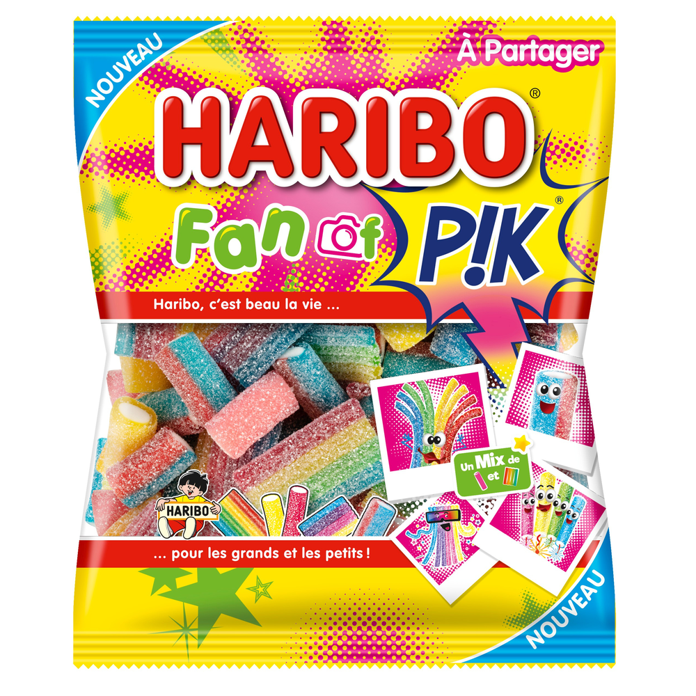 Bonbons Fan of Pik, Haribo (200 g)