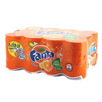 Pack de Fanta orange (8 x 15 cl)