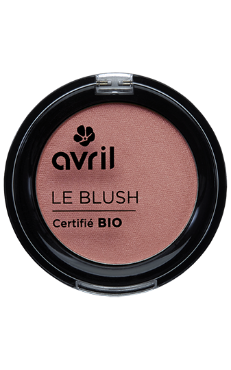 Blush rose praline certifié BIO, Avril (2,5 g)