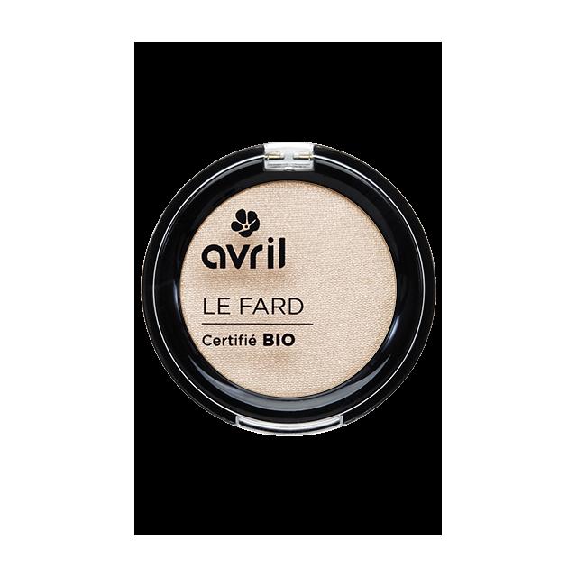 Fard à paupières désert certifié BIO, Avril (2,5 g)