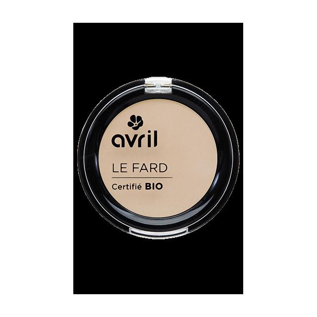 Fard à paupières beige mat certifié BIO, Avril (2,5 g)