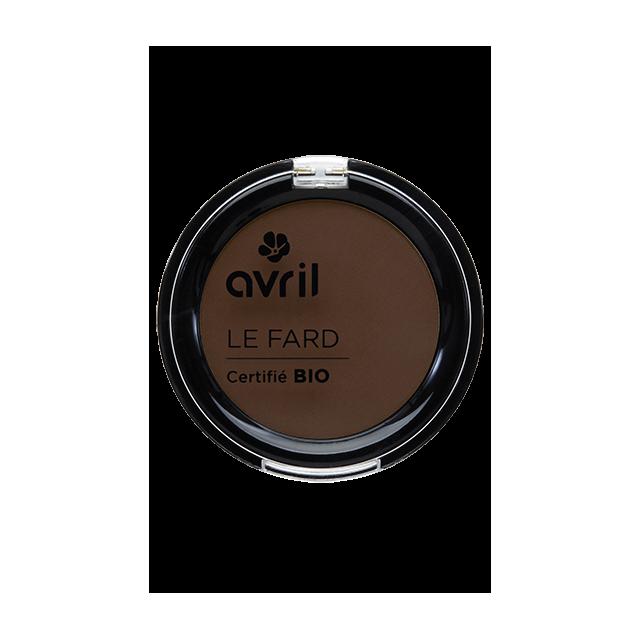 Fard à paupières terre mat certifié BIO, Avril (2,5 g)