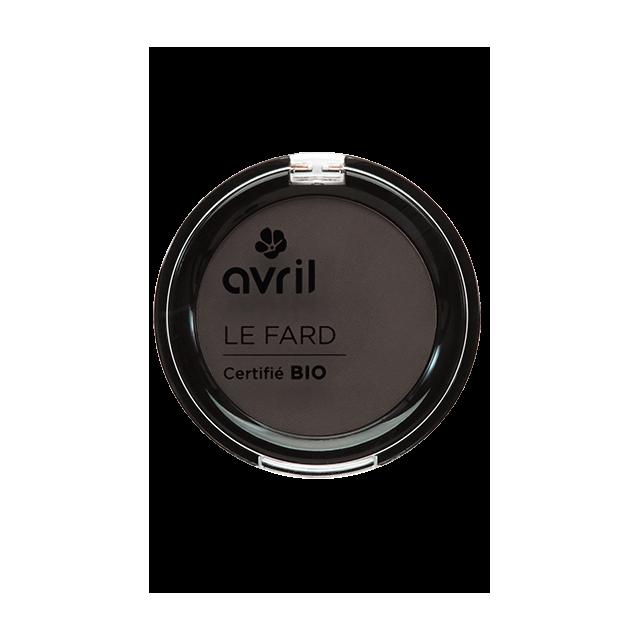 Fard à sourcils châtain clair certifié BIO, Avril (2,5 g)