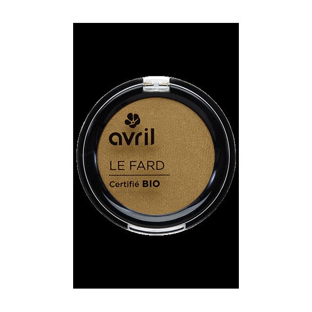 Fard à paupières or vénitien certifié BIO, Avril (2,5 g)