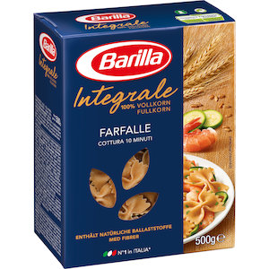 Farfalle au blé complet, Barilla (500 g)