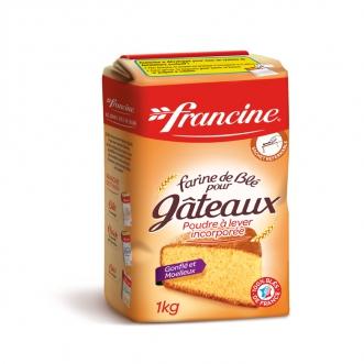Farine de blé pour gâteau, Francine (1 kg)