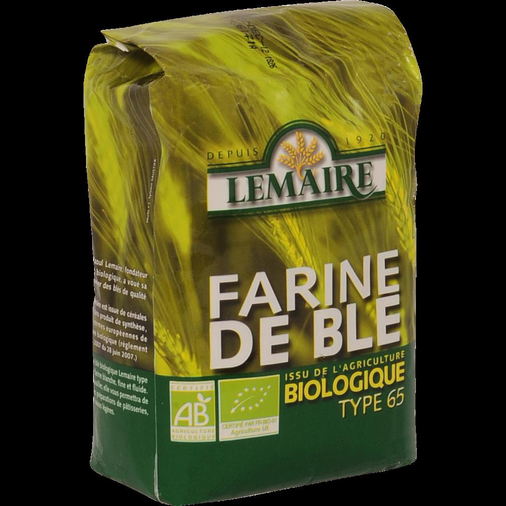 Farine de blé BIO T65 Lemaire (1 kg)